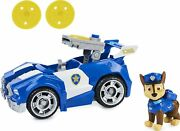 Paw Patrol Chaseandrsquos Deluxe Movie Transforming Toy Car | Collectible Action Figure