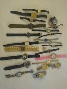Menand039s And Womenand039s Watches 25 Watch Lot Untested.