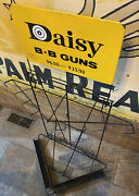 1960s Daisy Bb Guns Metal Retail Display Store Rack With Sign 45andrdquo Tall 8 Spot