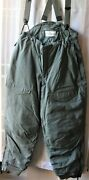 New Usa F-1b Air Force Extreme Cold Weather Pants Trousers