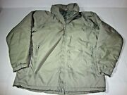 Us Army Primaloft Gen-iii Extreme Cold Weather Parka Jacket Good Condition