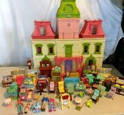 Fisher Price Loving Family Dollhouse Sounds Huge Furnished Loaded Lot +++