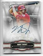 Mike Trout 24/25 Auto 2021 Five Star Five Tool Phenom Ftp-mt Autograph On Card