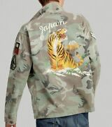 New Polo Military Camo Tiger Japan Over Shirt Jacket Very Rrl L