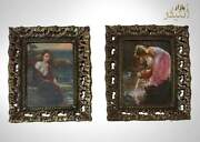 Vintage Old Two Frames, Brass Frame With New Photo, Beautiful Vintage Frame