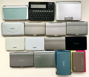 Lot Of 15 Electronic Dictionaries From Casio Sharp Seiko