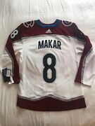 Cale Makar - Colorado Avalanche Nhl Adidas Authentic Jersey 46 New With Tags