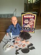 Hugo Man Of A Thousand Faces Vintage 1975 Kenner Puppet In Box W/ Accessories