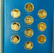 1874-1974 Franklin Mint Masterpieces Of Impressionism Limited Proof - Complete