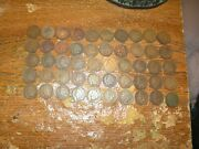 Roll Of 50 Circulated Indian Head Cents Pennies