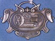 Lycoming Gas Engines Valley Iron Works Antique Watch Fob Williamsport Pa Xx-1