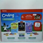 Osmo Coding Starter Kit For Apple Ipad - Ages 5-10 Games Learning Puzzles Music