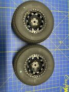 Jconepts Rc Truck Tires Subculture W/ Rims Hex Glued Used