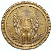 1860and039s Usa Confederate Civil War Period Vintage Eagle Star 20 Cent Medal I97358