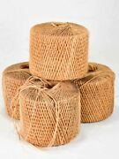 4 Large Antique French Twine Rolls 7andfrac12