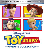 Toy Story 4-movie Collection-toy Story 4-movie Collection Br/dvd/ Blu-ray New