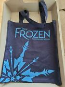 Disney Frozen The Broadway Musical Canvas Tote Bag Theater Exclusive Nwot