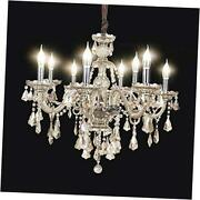 Contemporary K9 Christmas Tree Crystal Chandelier Ceiling Lighting Fixtures