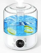 Humidifiers For Bedroom 2.5l Ultrasonic Cool Mist Humidifiers - Large Capacity