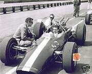 Jim Clark Lotus-ford Test Session Colin Chapman Indy 500 1964 8 X 10 Photo