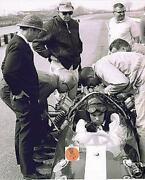 Jim Clark Lotus-ford Test Session 1964 Colin Chapman Indy 500 8 X 10 Photo 14