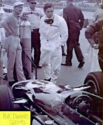 Jim Clark Lotus Ford By Colin Chapman 1964 Indy 500 8 X 10 Photo 18