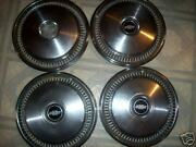 Old 1970-1980 Chevrolet-chevy Hubcaps/ Set Of 4