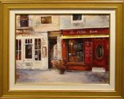 Sabrina R.depatran La Petite Cave French Hand Signed Fine Art Submit Offer