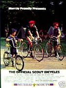 1976 Murray Offical Boycub Scout Bicycle Bike Print Ad