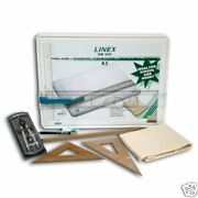 Linex A3 Drawing Board - Student Saver Bundle -rrp Andpound80+