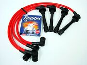 Vms 88-91 Civic Si D16 Sohc 10.2mm Racing Spark Wires And Ngk Iridium Ix Plugs Red