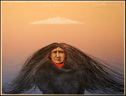 Frank Howell Cloud Dreamer Original Color Art Lithograph Signed Submit An Offer