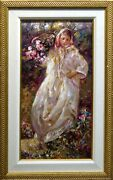 Royo Fall From The Four Seasons Suite Signed And Numbered Art Board Flower L@@k