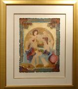 Roy Tonkin Equinox Iv Framed Serigraph Hs Submit Your Best Offer
