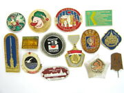 Over 50 Lot Of Russian Cccp Assorted Pin Badges 1