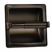 Oil Rubbed Bronze - Recessed Toilet Paper Holder