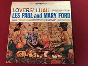 Les Paul And Mary Ford Signed Lp Autographed Proof