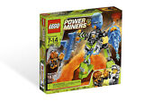8189 Magma Mech Lego Set New Power Miners Legos Retired City Town