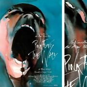 34wx48h Pink Floyd The Wall Movie Poster - Barrett Wright Waters Mason Canvas