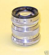 Dr. Hensoldt Proto 55mm 118 - Extremely Rare M39 Lens - Only Ten Made