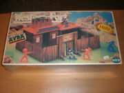 80's Vintage Plastic Toy Soldiers Fort Worth Nfh Holz West Germany Sealed