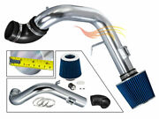 Blue Cold Air Induction Intake Kit+filter For Chevy 05-07 Cobalt Ss Supercharger
