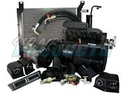 1969 1970 Ford Mustang 302 Complete Cable Operated A/c Heat Kit Air Conditioning