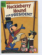Huckleberry Hound For President F.c. 1141 Dell 1960