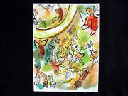 Marc Chagall Frontispiece From Le Plafond De Land039opera... Lithograph Inv976