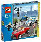 3648 Police Chase Exclusive Emergency Rescue Lego Legos City Town Sealed New Set
