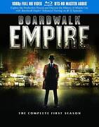 Boardwalk Empire Complete 1st First Season 1 One New 5-disc Blu-ray Set