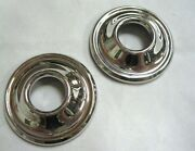 1933 1934 Ford Closed Car Stainless Door Handle Escutcheons 33 34 Set Of 2 Pair