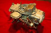 1971 4802 Holley 142 Dated Corvette And Chevelle 454-425hp With Auto Trans