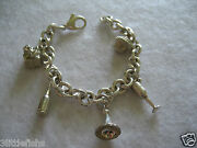 100 Authentic And Co Sterling Silver 925 Party Charms Bracelet Rare